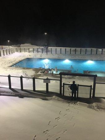 Killington, VT: Out door pool w/ two hot tubs