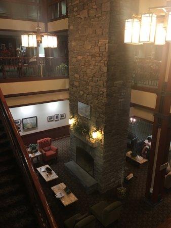 Killington, VT: Lobby area out side of Preston's restaurant