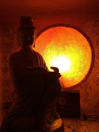 Palo Alto, Californië: art in massage room