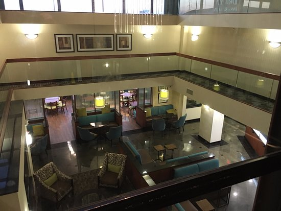 Drury Inn & Suites St. Louis Southwest: First floor common area viewed from elevator