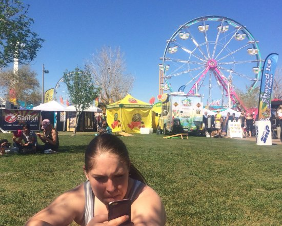 Tumbleweed Park : We were here for the Ostrich Festival.   Lots of food, rides and entertainment.   $5.00 parking