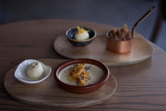 Constantia, South Africa: our dessert