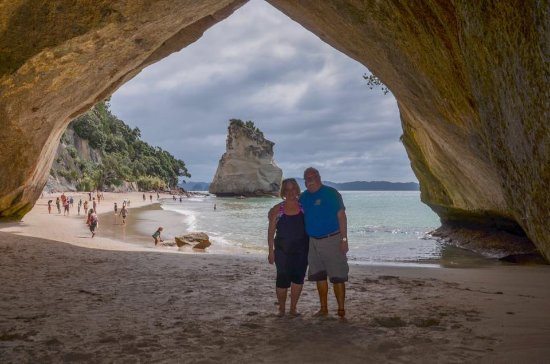 On the Beach B & B: Cathedral Cove