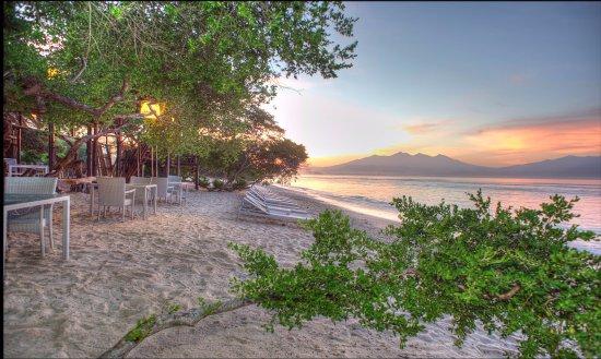 The Trawangan Resort: Hotel Front