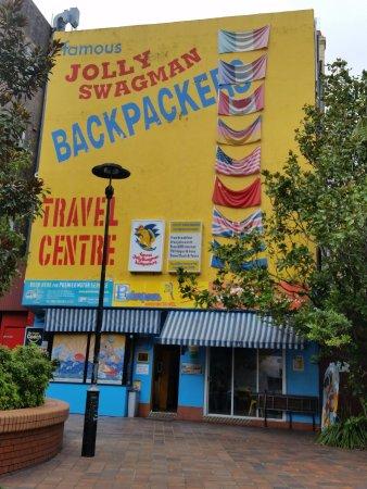 Jolly Swagman Backpackers: Advertisement
