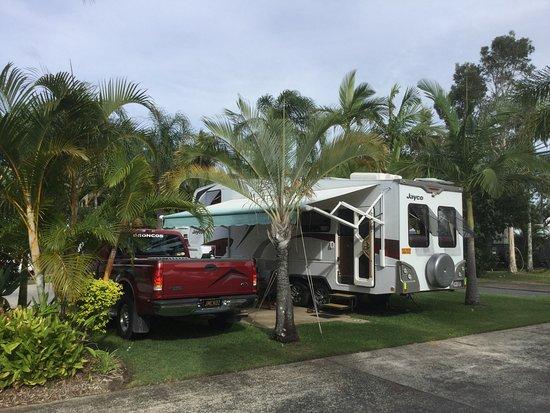Skennars Head, Australia: Caravan Site No. 100