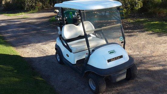Coolum Beach, Australien: Golf Cart