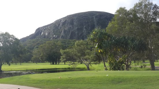 Mount Coolum Golf Club: Another view of Mt Coolum