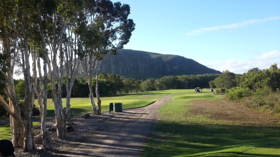 Mount Coolum Golf Club: Great View, favourite hole of the day