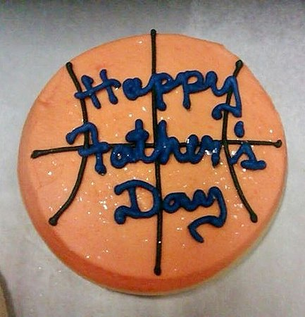 Woodland, CA: Father's Day Frosted Sugar Cookie