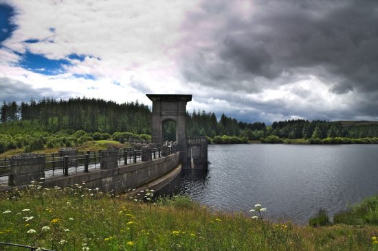 Glan Ceirw Caravan Park: 5 minute drive away - reservoir walk
