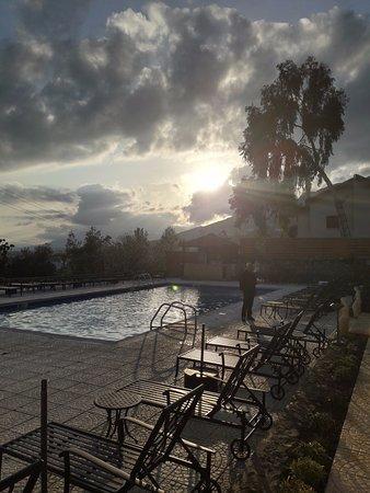 Bellapais Monastery Village: Morning Sun Rise
