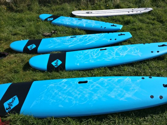 Newquay, UK: Brand new equipment ready for you to take up a new hobby!