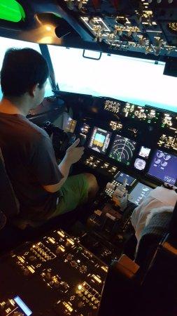 Flight Experience Bangkok: เครื่องบิน