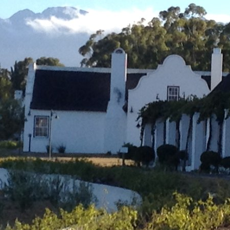 Tulbagh, South Africa: Cottages with view....