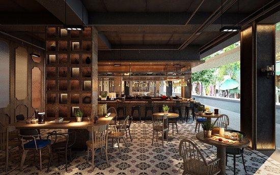 Streats Café at Ibis Styles Bangkok Khaosan Viengtai: Streats Bar
