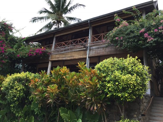 My Dream Boutique Resort: Rooms above the reception and restaurant.