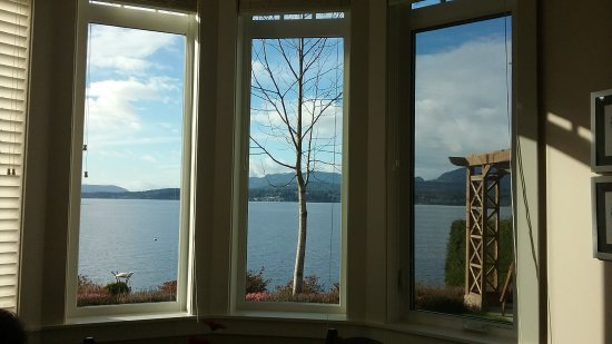 Ladysmith, Канада: The view from the dining area! Spectacular!