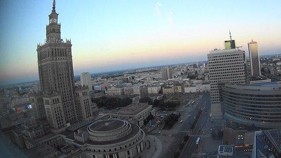 InterContinental Hotel Warsaw: Vista desde la habitación