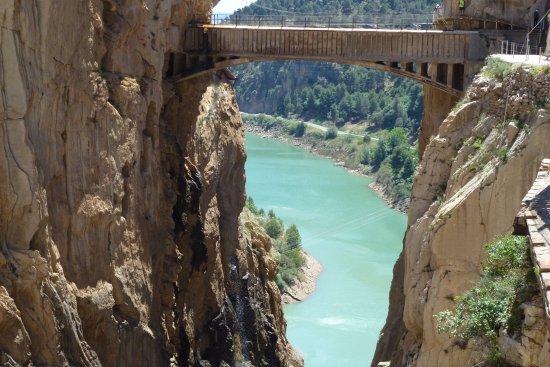 El Chorro, Spanien: Puente sobre la garganta de Los Gaitanes