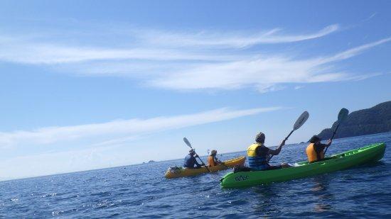 Wakasa-cho, Japan: 青い海と一体感で楽しめますよ!