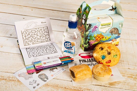 Pinjarra Bakery & Patisserie: Kids Meal Deals- included Activity Pack