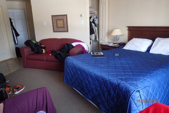 Saint Hippolyte, Canada: notre chambre