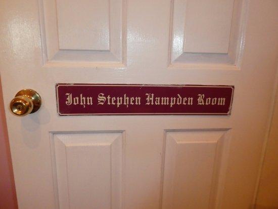 New Norfolk, Australia: The door to the John Stephen Hampden Room