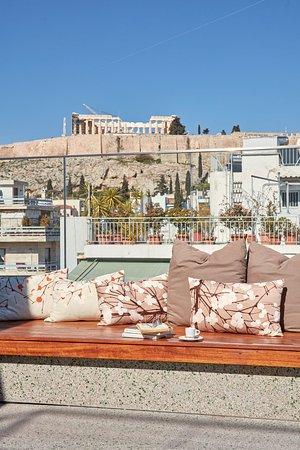 Philippos Hotel: Roof Garden