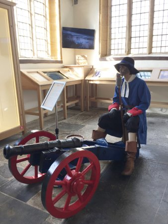 17th C Gunner and cannoned touch screens.