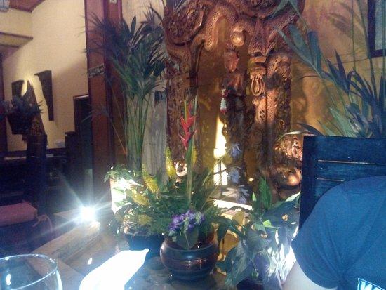 Thai Barcelona Royal Cuisine Restaurant: decoración del local