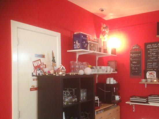 Herentals, Bélgica: Diverse koffies, thee of chocomelkje? Dat kan!
