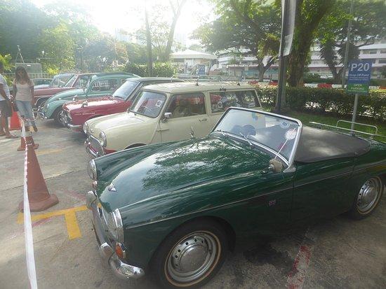 Classic Cars In Carpark Picture Of Furama Riverfront Singapore