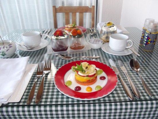 Linkside2 Guest house: Breakfast fruit