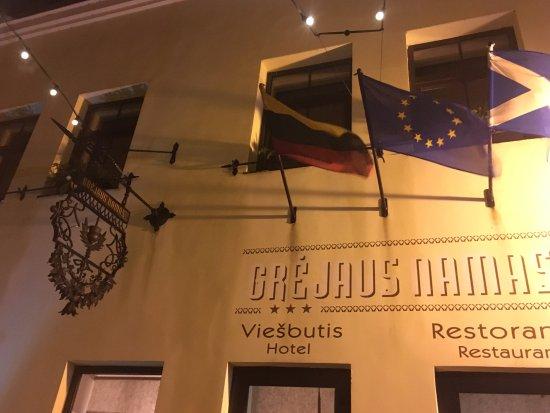 Grejaus Namas: отель с улицы
