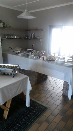 De Rust, Sudafrica: Sunday buffet