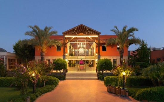 Club Hotel Felicia Village: Aussenansicht Lobby-Rezeptionsbereich