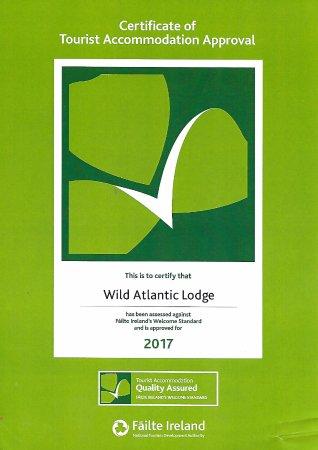 Ballyvaughan, Irlandia: Certificate