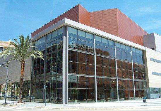 Imatge exterior de l'Auditori Municipal de Paiporta.
