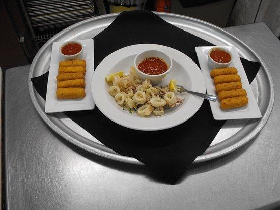 Windham, NY: Mozzarella Stix & Fried Calamari