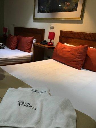 Hotel Aranjuez: comfortable beds