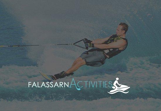Falassarna, Greece: Water Ski