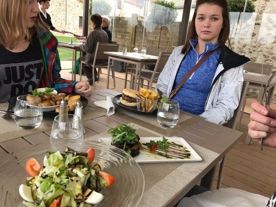 Domaine de Crecy : Delicious food, nicely prepared