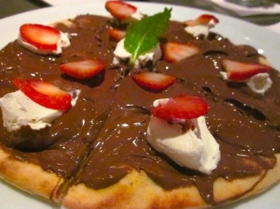 St. Catharines, Canada: Nutella Pizza