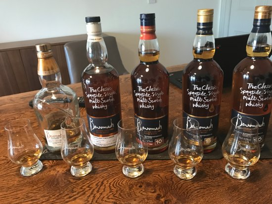 Forres, UK: Personal Distillery Manager's Experience tasting