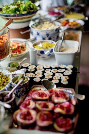 Durrus, Ireland: Starter buffet