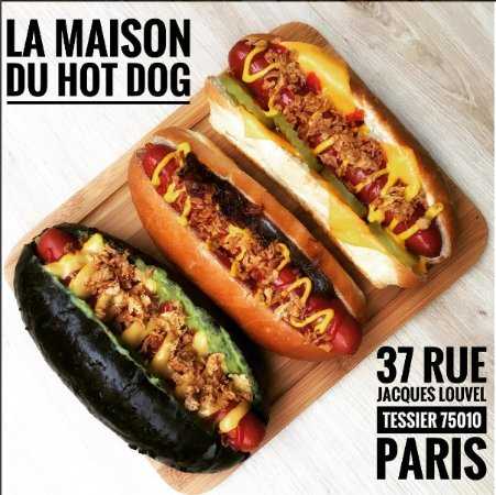 La maison du hot dog paris restaurant avis num ro de for La maison du cafe paris