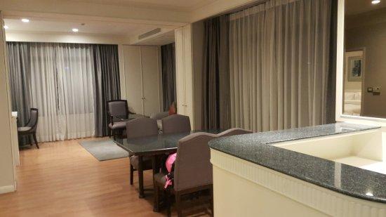 Very spacious suite!