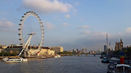 London Eye Across From Victoria Embankment Picture Of Golden