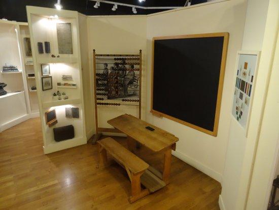 Stadtmuseum: Old classroom